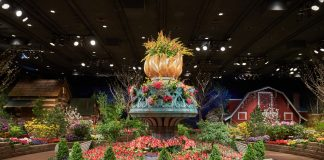 MINNEAPOLIS, MN - MARCH 20: Macy's Flowershow on March 20, 2016 in Minneapolis, Minnesota. (Photo by: Adam Bettcher for Macy's)