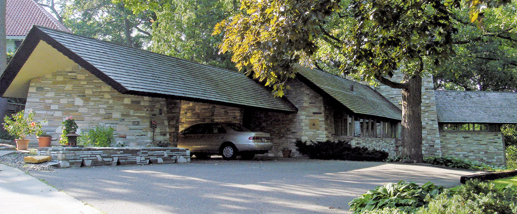 Frank Lloyd Wright designed Minneapolis home