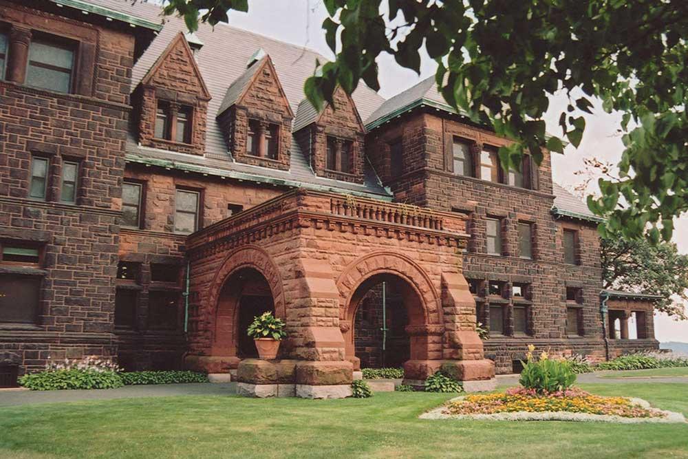 The Backside Of James J Hill House In St Paul Minnesota
