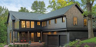 An Oregon-coast inspired home.