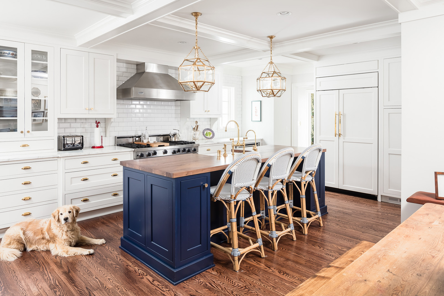 Photo of a renovated kitchen