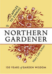 From Apples to Zinnias: The Northern Gardener book cover.