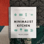 Photo of Minimalist Kitchen book on a patterned rug