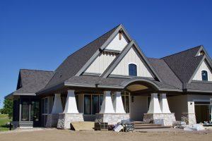 Front of Hartman Homes' Lake Elmo residence