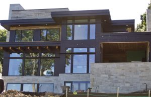 Back of Stonewood LLC's Orono residence